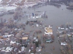 An aerial of Beulah, ND. Photo courtesy of Julie Van Inwagen.