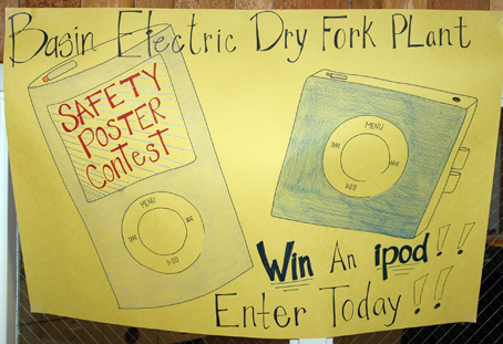 Great prizes to draw a safety poster!