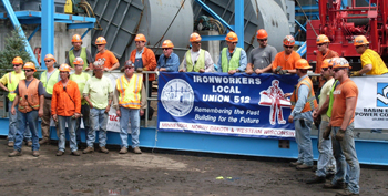 Ironworkers Local Union 512 at Leland Olds Station