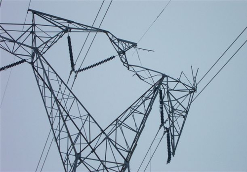 Ice And Wind Take A Toll On Basin Electric Transmission