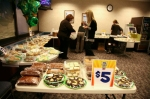 Basin Electric Headquarters volunteers hold a bake sale on March 9.