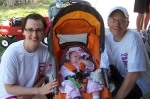 Mike Zimmerman family on Cystic Fibrosis walk