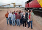 Montana Limestone truck dump and rail load out dedication