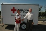 Mid-Dakota Red Cross donation