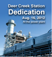 Deer Creek Station dedication