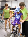 "Basin Electric volunteers for ""Lose the Training Wheels"" event"