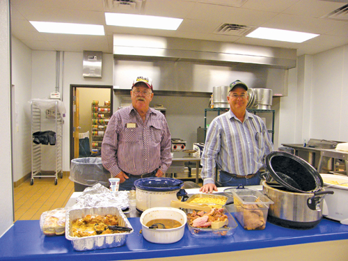 Joe-Connot hosts Thanksgiving dinner