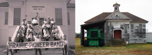 Pioneer then and now