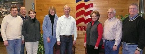 2013 Iowa lawmakers tour