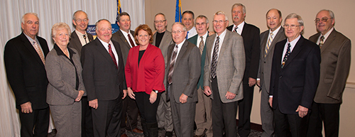 Heitkamp and board