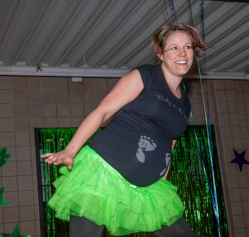 Get Your Green On! Zumbathon 2014