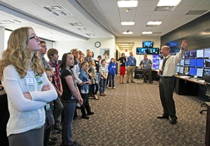 Take Our Daughters and Sons to Work Day Tour of Marketing and Trading Floor