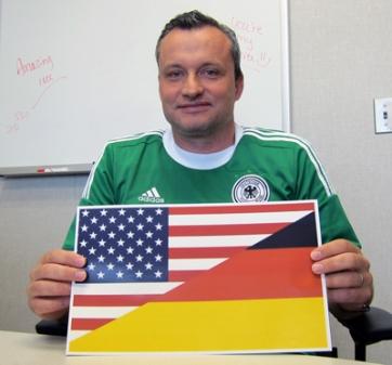 Folko Mueller, Basin Electric short-term trader, was born in Frankfurt, Germany.