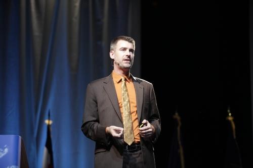 Keynote speaker Peter Zeihan.
