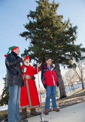 Third annual Christmas tree lighting ceremony
