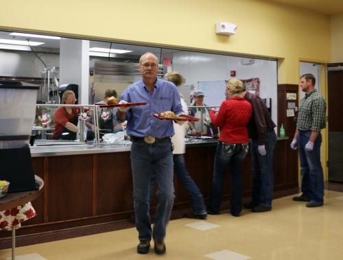 Gillette 2014 Senior Center Lunch 3 Dennis Thorfinnson