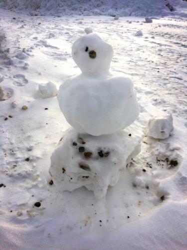 Groton snowman