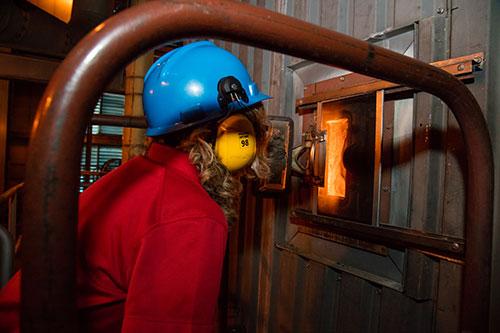Intense look inside a coal based steam boiler – Basin Electric: Live ...