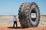 Freedom Mine big tire
