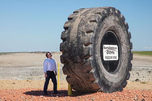 Freedom Mine big tire