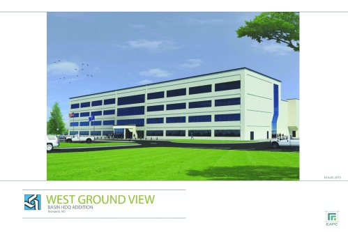 West Ground View rendering