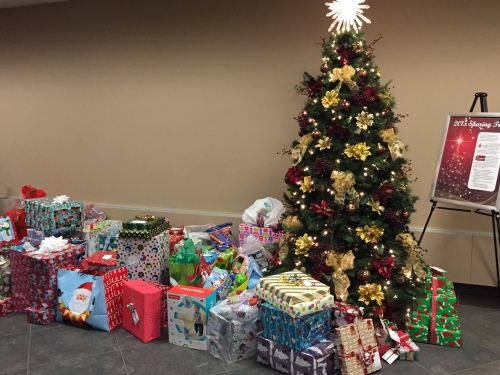 Basin Electrics Headquarters employees have donated Christmas gifts for 150 underprivileged children and adults in the Bismarck-Mandan community.