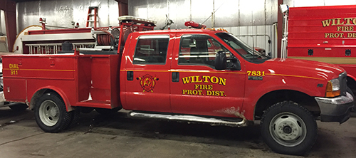 Finished Wilton Truck