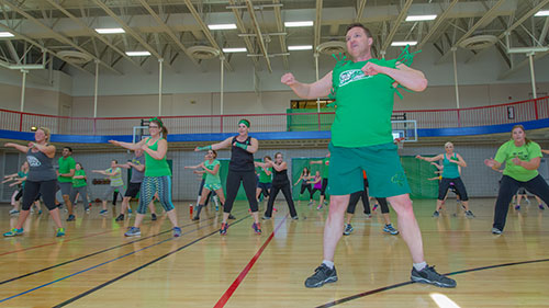 Get Your Green On! Zumbathon