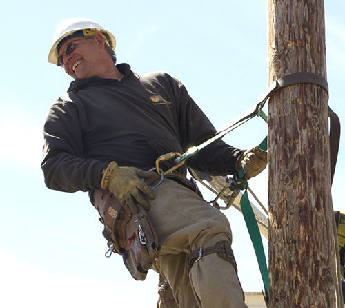 High School Essay Honors Northern Plains Electric Lineman