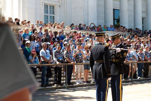 Youth Tour 2016 Changing of the Guard