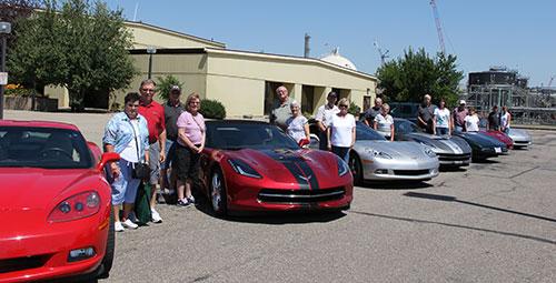 Corvette Club tour 2016