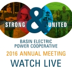 Watch LIVE: Basin Electric Annual Meeting 2016