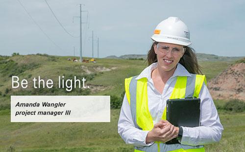 Be the light Amanda Wangler