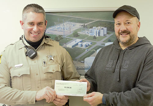 Basin Electric Brings Light To The Clay County Sheriff
