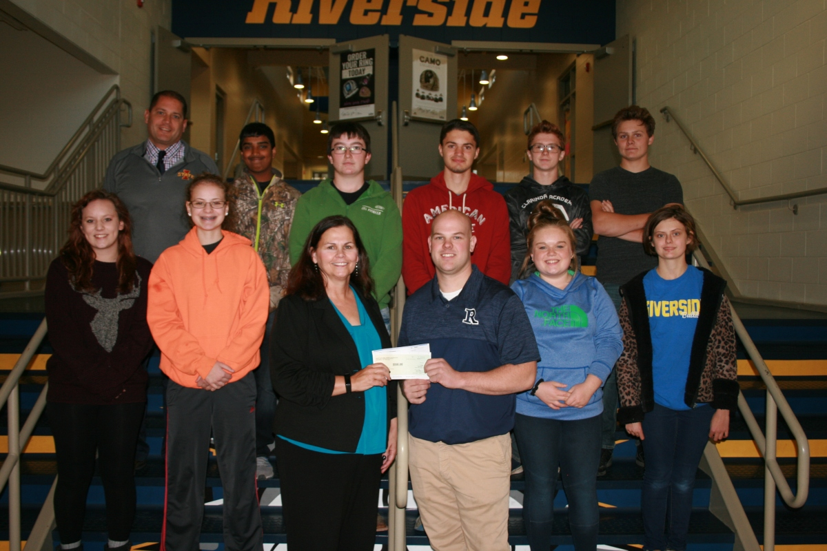 Matching Cooperative Donations Support Iowa High School