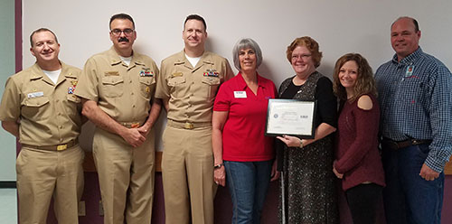 Laramie River Station Employee Receives Department Of