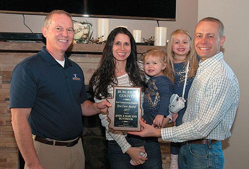 buntrock-family-receives-award