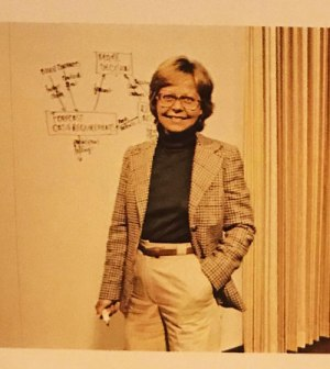 Greta Johnson in the 1979 Annual Report