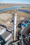 aerial LOS emissions stack